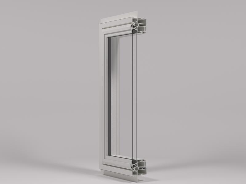 Aluminum Reinforced Vinyl Windows Custom Built Vinyl